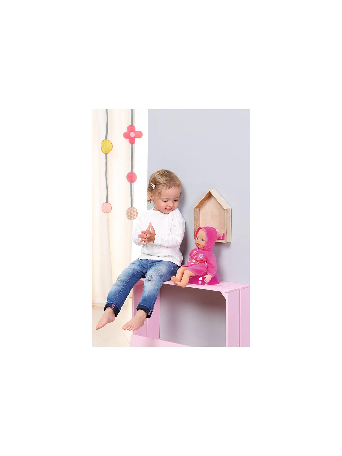 Zapf My Little Baby Born Potty Training Doll At John Lewis