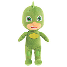 Buy PJ Masks Gekko Plush Soft Toy Online at johnlewis.com