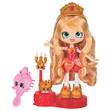 Buy Shopkins Shoppies Tiara Sparkles Doll Online at johnlewis.com