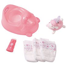 Buy Baby Annabell Potty Training Set Online at johnlewis.com