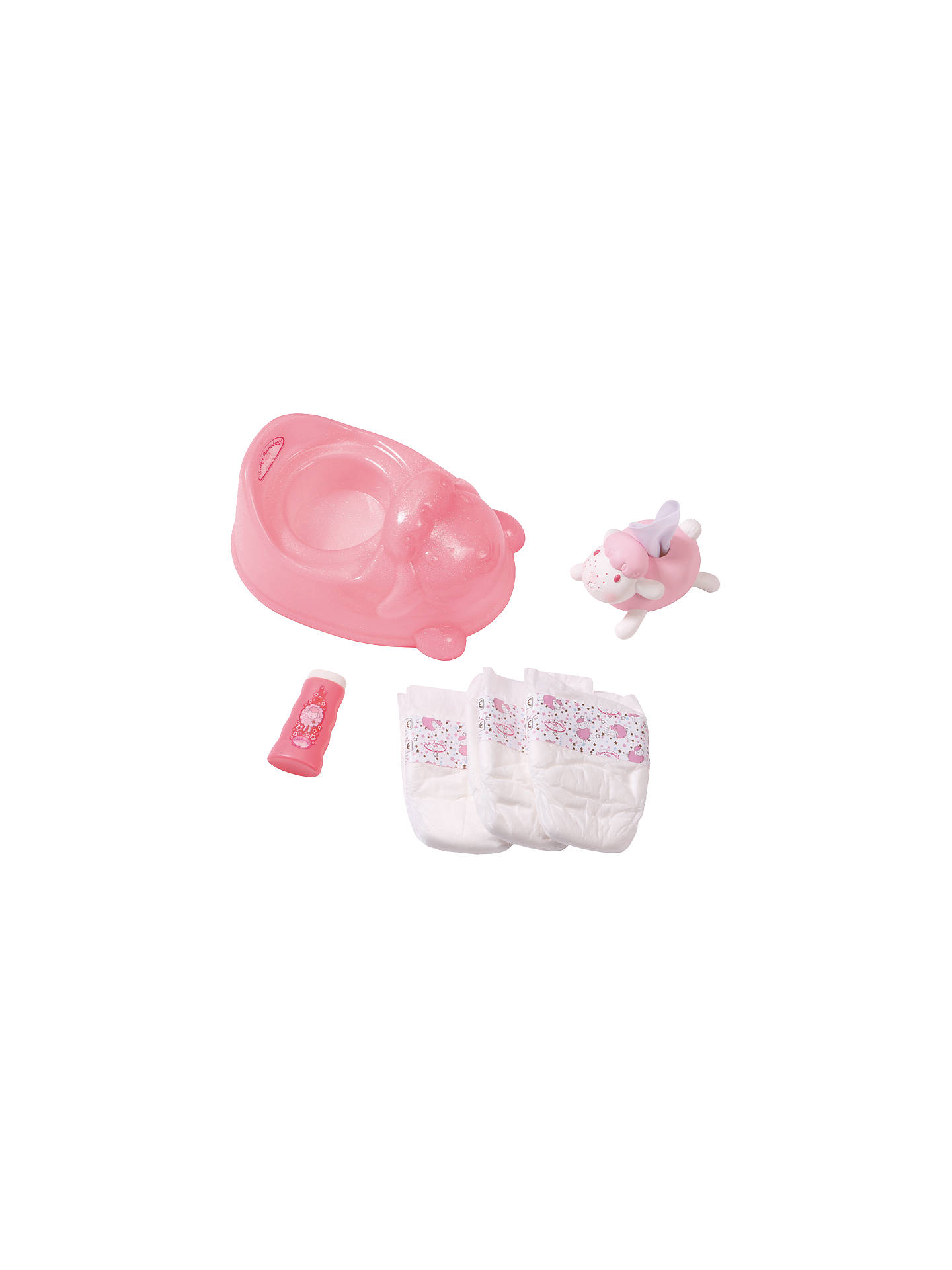 Baby Annabell Potty Training Set at John Lewis & Partners