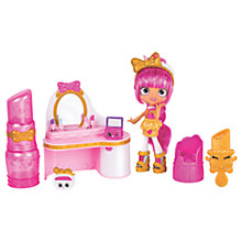 Buy Shopkins Lippy Lulu Beauty Boutique Playset Online at johnlewis.com