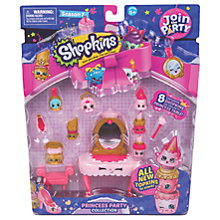 Buy Shopkins Season 7 Princess Party Collection Pack Online at johnlewis.com