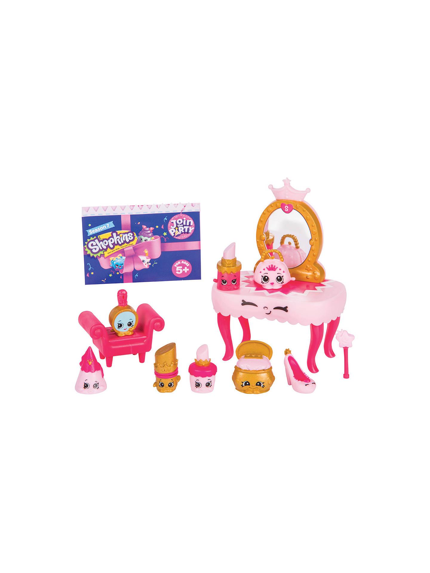 Shopkins season 7 princess party collection pack at john - John lewis shopkins ...