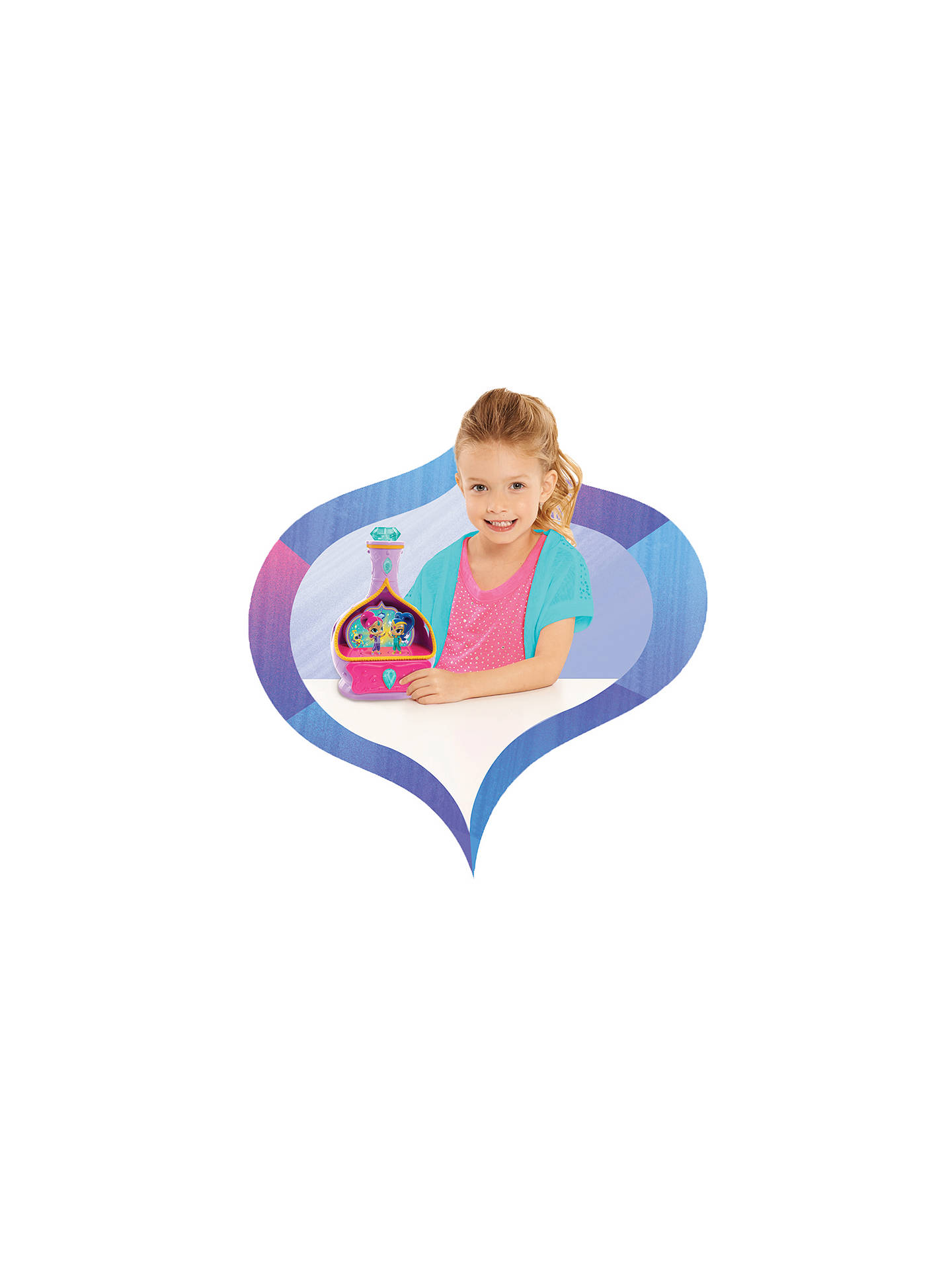 Shimmer and Shine Magic Wishes Jewellery Box at John Lewis