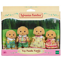 Buy Sylvanian Families Toy Poodle Family Set Online at johnlewis.com