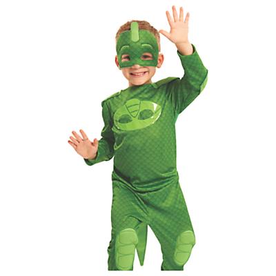 Image of PJ Masks Gekko Hero Children's Costume, 4-6 years