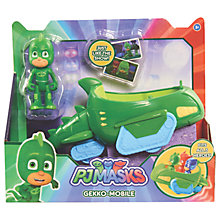 Buy PJ Masks Gekko Figure and Mobile Swamp Vehicle Online at johnlewis.com