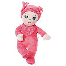 Buy Zapf Baby Annabell Newborn Soft Doll Online at johnlewis.com