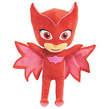 Buy PJ Masks Owlette Plush Soft Toy Online at johnlewis.com