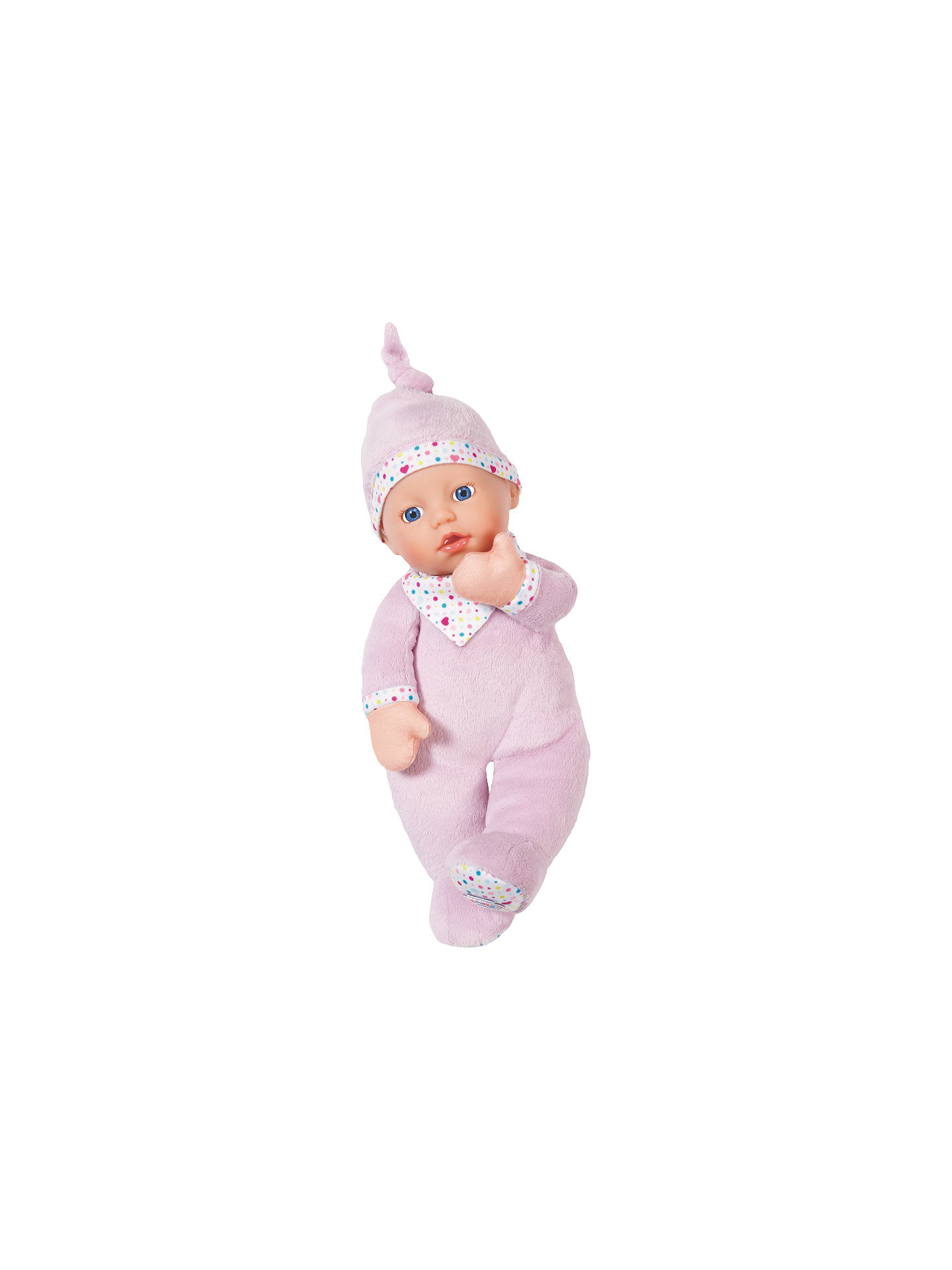 Zapf Baby Born First Love Doll At John Lewis Amp Partners