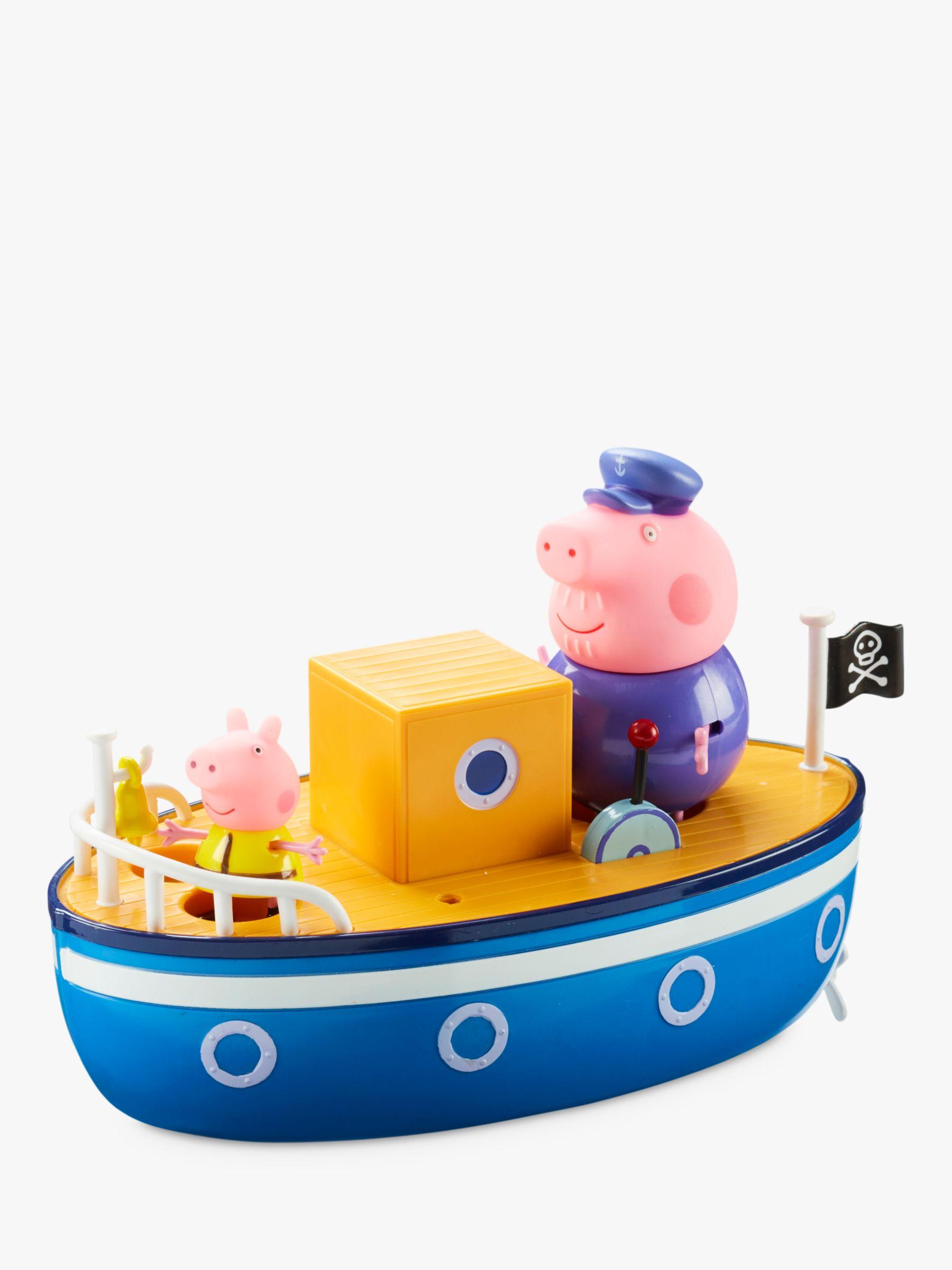 Peppa Pig Peppa Pig Grandpa Pig Bath Boat