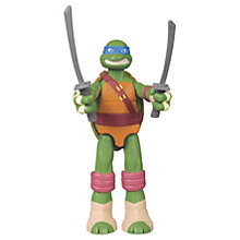 Buy Teenage Mutant Ninja Turtles Mutant XL Leo Figure, 28cm Online at johnlewis.com
