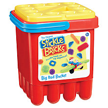 Buy Stickle Bricks Big Red Bucket Online at johnlewis.com