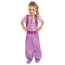 Buy Shimmer and Shine Children's Genie Shimmer Satin Dress Up Set Online at johnlewis.com