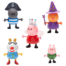 Buy Peppa Pig Fancy Dress 5 Figure Pack Online at johnlewis.com