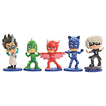 Buy PJ Masks Collectable Figures, Pack of 5 Online at johnlewis.com