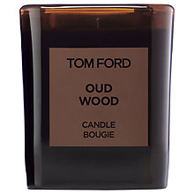 Buy TOM FORD Private Blend Oud Wood Candle Online at johnlewis.com