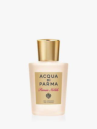 Acqua di Parma Peonia Nobile Luxurious Bath Gel, 200ml