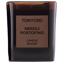 Buy TOM FORD Private Blend Neroli Portofino Candle Online at johnlewis.com