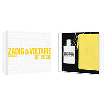 Buy Zadig & Voltaire This Is Her! Be Rock! 50ml Eau de Parfum Fragrance Gift Set Online at johnlewis.com