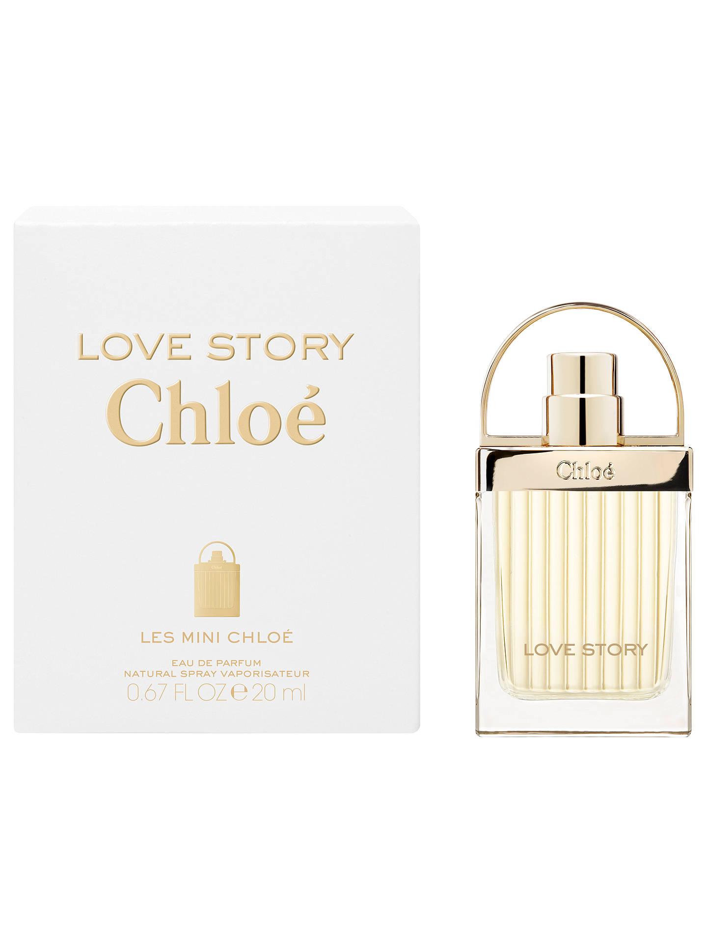 Chloé Love Story Les Mini Chloé Eau De Parfum 20ml At John Lewis