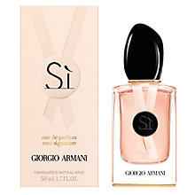 Buy Giorgio Armani Sì Rose Signature Eau de Parfum, 50ml Online at johnlewis.com
