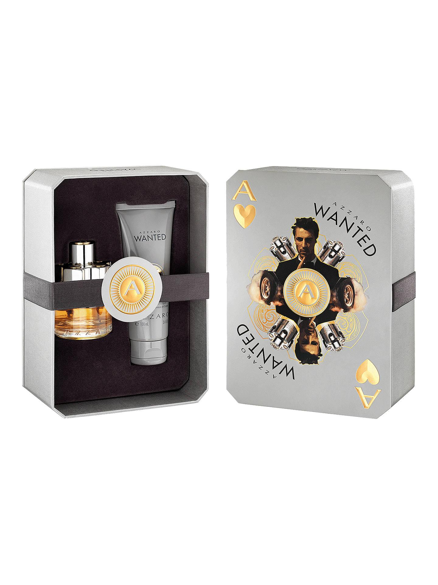 Azzaro Wanted 50ml Eau De Toilette Fragrance Gift Set At John Lewis