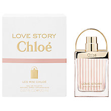 Buy Chloé Love Story Les Mini Chloé Eau de Toilette, 20ml Online at johnlewis.com