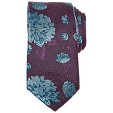 Buy Ted Baker Kiribat Floral Silk Tie Online at johnlewis.com