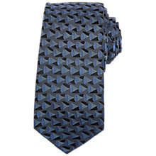 Buy Ted Baker Capella Horn Weave Silk Tie, Blue Online at johnlewis.com