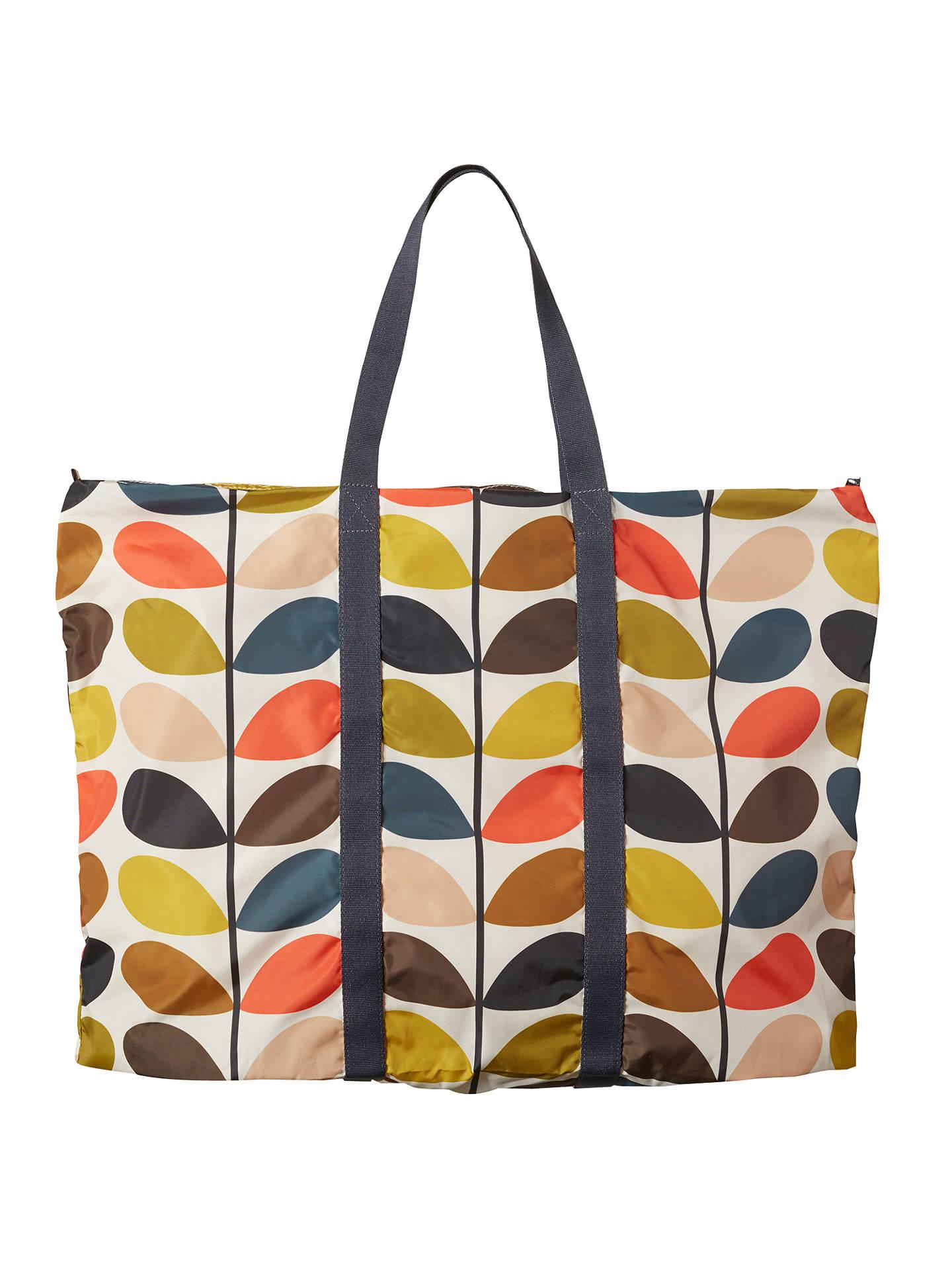 Orla Kiely Foldaway Travel Bag Multi At John Lewis Partners