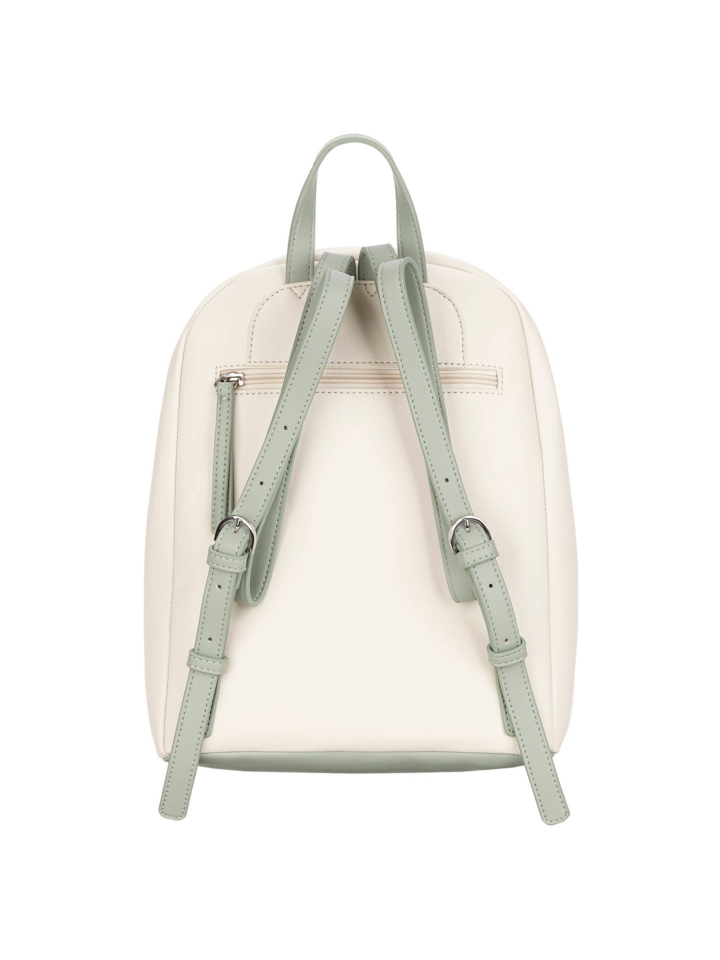 BuyFiorelli Trenton Backpack, White Botanical Online at johnlewis.com