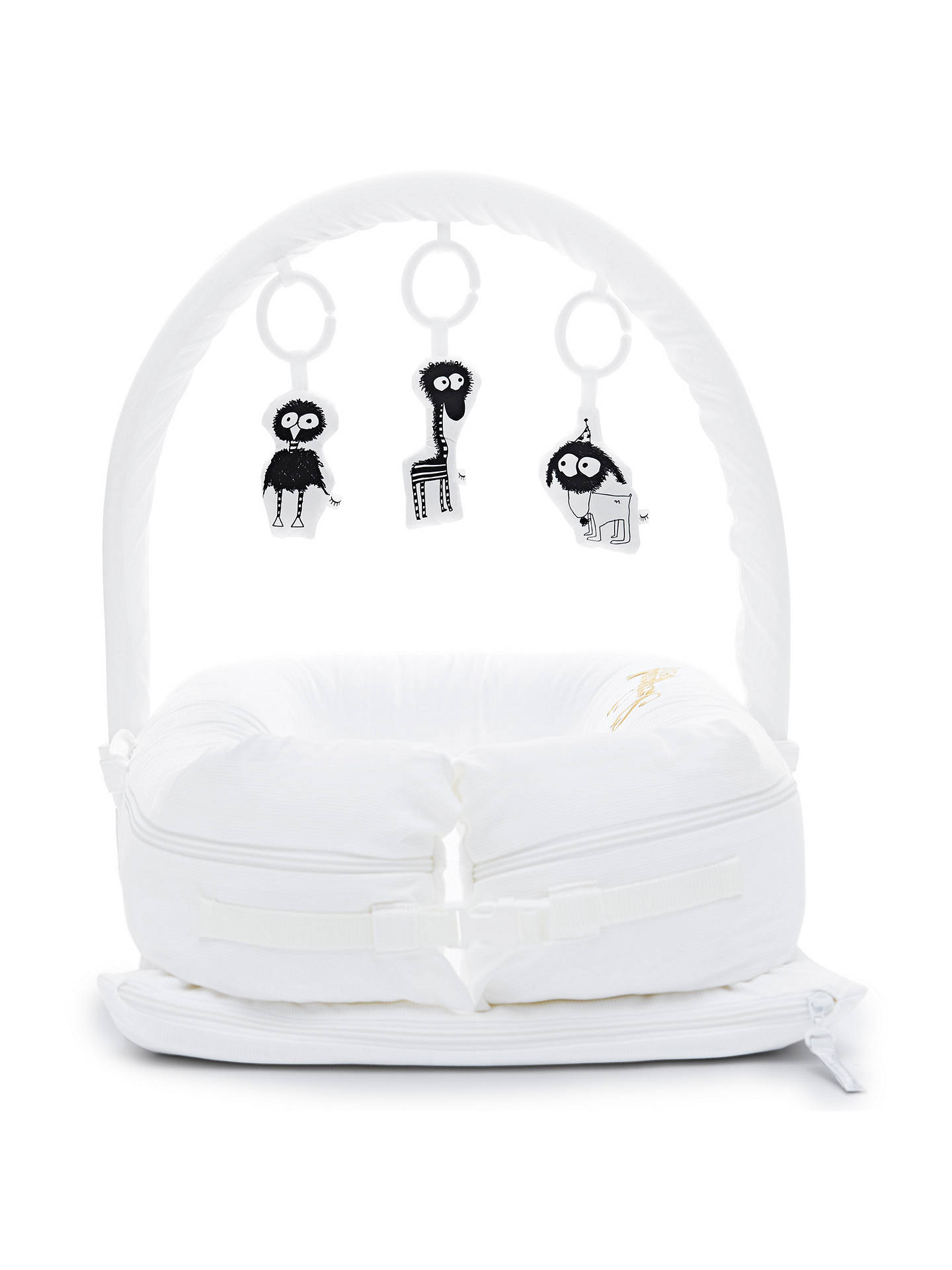 Buy Sleepyhead Deluxe+ Pristine White Baby Pod, 0-8 months Online at johnlewis.com