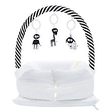Buy Sleepyhead Baby Mobile Toy Arch, Black/White Online at johnlewis.com