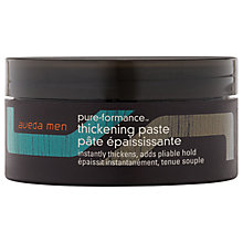 Buy AVEDA Men Pure-Formance™ Thickening Paste, 75ml Online at johnlewis.com