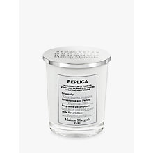 Buy Maison Margiela Replica Lazy Sunday Morning Candle, 185g Online at johnlewis.com
