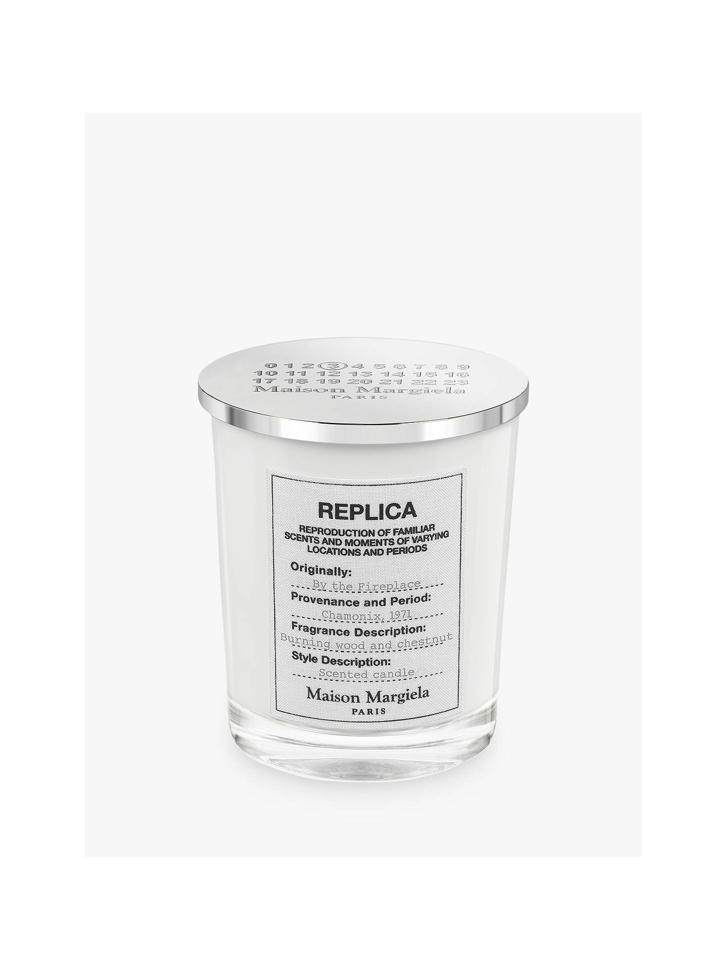 Maison Margiela Replica By The Fireplace Candle 185g At