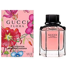 Buy Gucci Flora by Gucci Limited Edition Gorgeous Gardenia Eau de Toilette, 50ml Online at johnlewis.com
