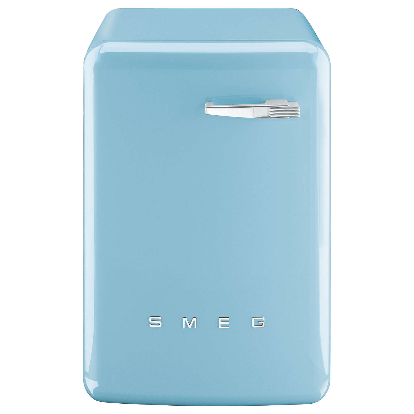 BuySmeg WMFABPB-2 Freestanding Washing Machine, 7kg Load, A++ Energy Rating, 1400rpm Spin, Pastel Blue Online at johnlewis.com