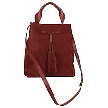 Buy Gerard Darel Le Saxo Leather Across Body Bag Online at johnlewis.com