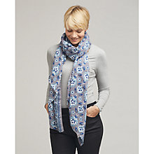 Buy East Sonali Print Scarf, Nightshade Online at johnlewis.com