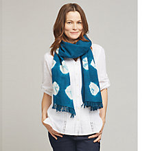 Buy East Bandhini Wool Scarf, Ensign Online at johnlewis.com
