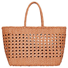 Buy Gerard Darel Panier Géo Bag, Beige Online at johnlewis.com