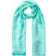 Buy East Tie Dye Scarf, Ceramic Online at johnlewis.com