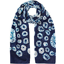 Buy East Bandhini Silk Scarf, Ensign Online at johnlewis.com