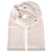 Buy Coast Riana Metallic Scarf, Blush Online at johnlewis.com