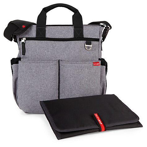 Buy Skip Hop Duo Signature Changing Bag, Heather Grey Online at johnlewis.com