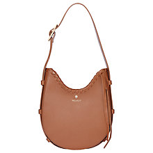 Buy Modalu Luna Scoop Leather Small Shoulder Bag Online at johnlewis.com