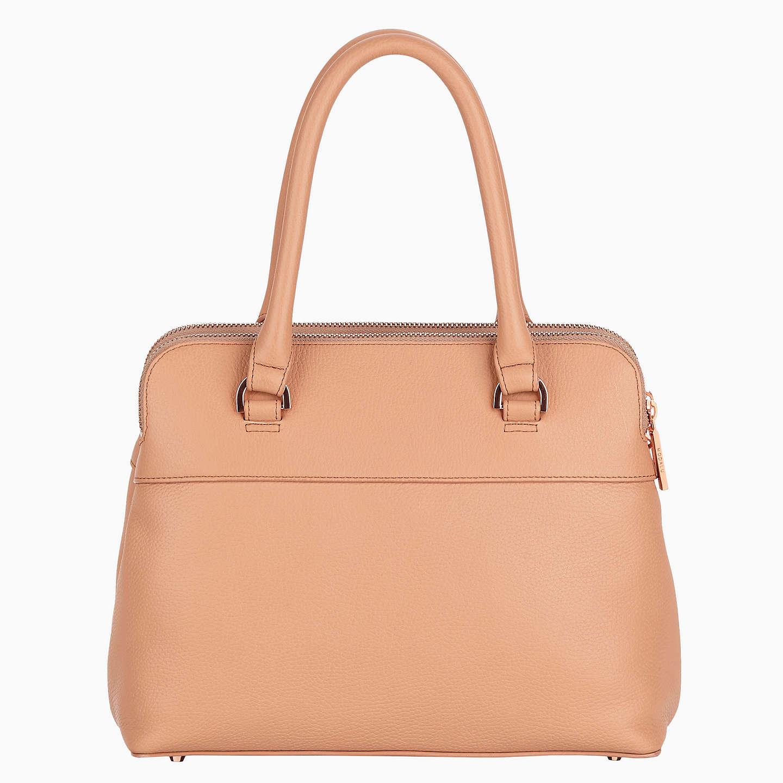 John Lewis Leather Travel Bag